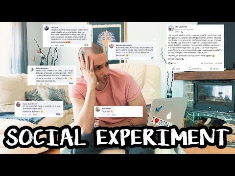 SOCIALNI EKSPERIMENT: SPREMENIL SEM SE V PRIMITIVNEGA SLOVENCA 🇸🇮