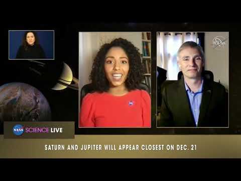 Great Conjunction of Jupiter & Saturn - NASA explains the science behind it?