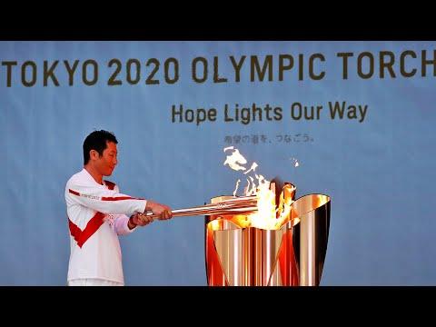 Tokyo 2020 Olympic torch begins long journey across Japan