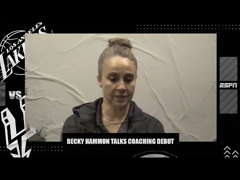 Becky Hammon on the 'very Pop-like' moment she became the 1st woman to coach NBA team | NBA on ESPN