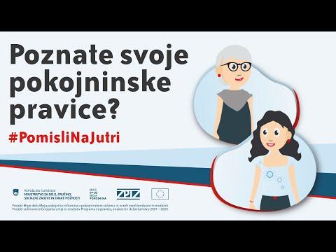 Moje delo.Moja pokojnina - Poznate svoje pokojninske pravice? #PomisliNaJutri - Animirani spot 2