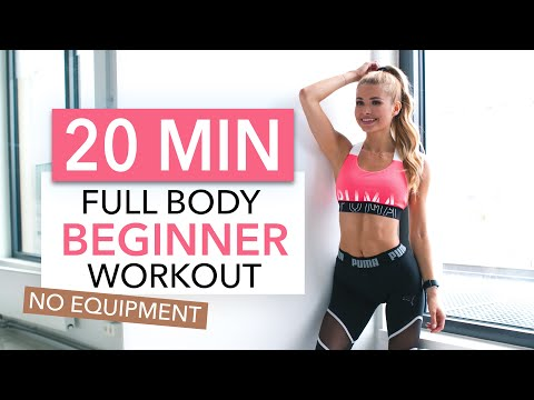 20 MIN FULL BODY WORKOUT - Beginner Version // No Equipment I Pamela Reif