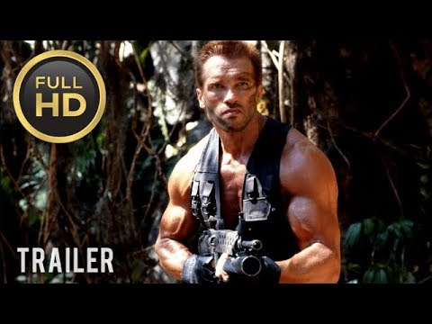 🎥 PREDATOR (1987)   Full Movie Trailer in Full HD   1080p