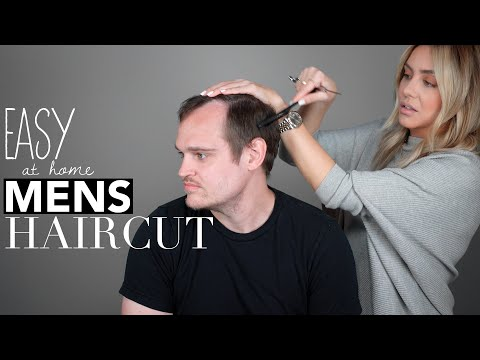 Easy To Follow At Home Men's Haircut