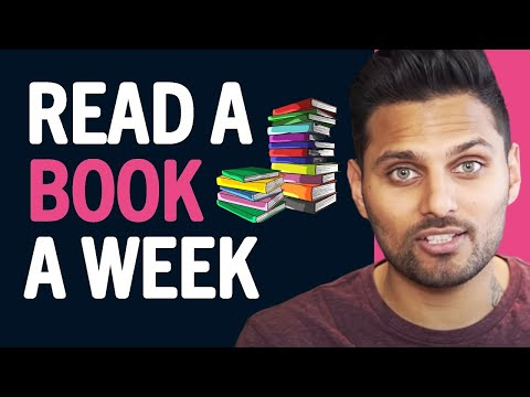 How To READ A Book A Day To CHANGE YOUR LIFE (Read Faster Today!)  Jay Shetty