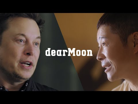 【8 crew members wanted】dearMoon - Special Message from MZ & Elon