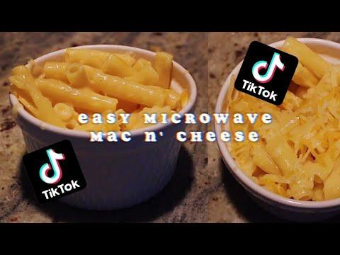EASY TIK TOK MICROWAVE MAC N' CHEESE