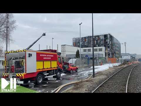 Enorme incendie dans un data center OVH à Strasbourg