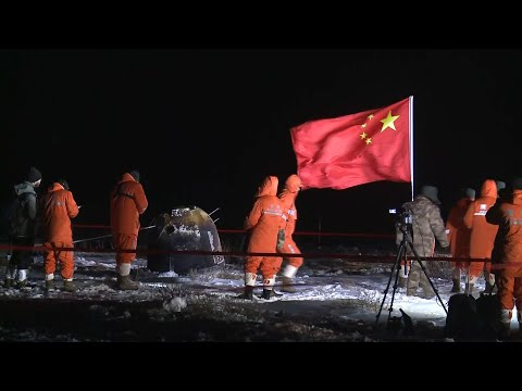 China's Chang'e-5 spacecraft brings home samples from moon | Global Link