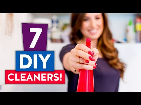 7 DIY CLEANERS | My Favorite Natural Cleaning Products!
