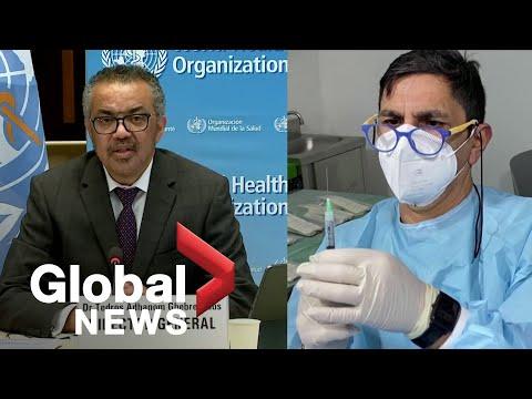 Coronavirus: WHO tells rich countries to stop cutting vaccine queue