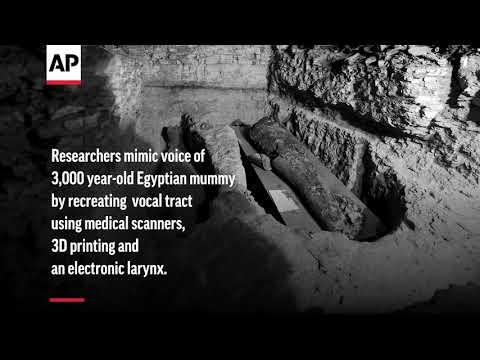 Sounding Ancient: Researchers recreate 3,000 year-old voice