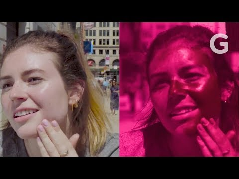 UV Camera Reveals The Best Way to Apply Sunscreen to Your Face   Gizmodo