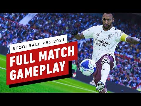 eFootball PES 2021 Season Update - Full Match Gameplay 4K