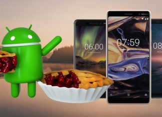 Android 9.0 Pie Nokia