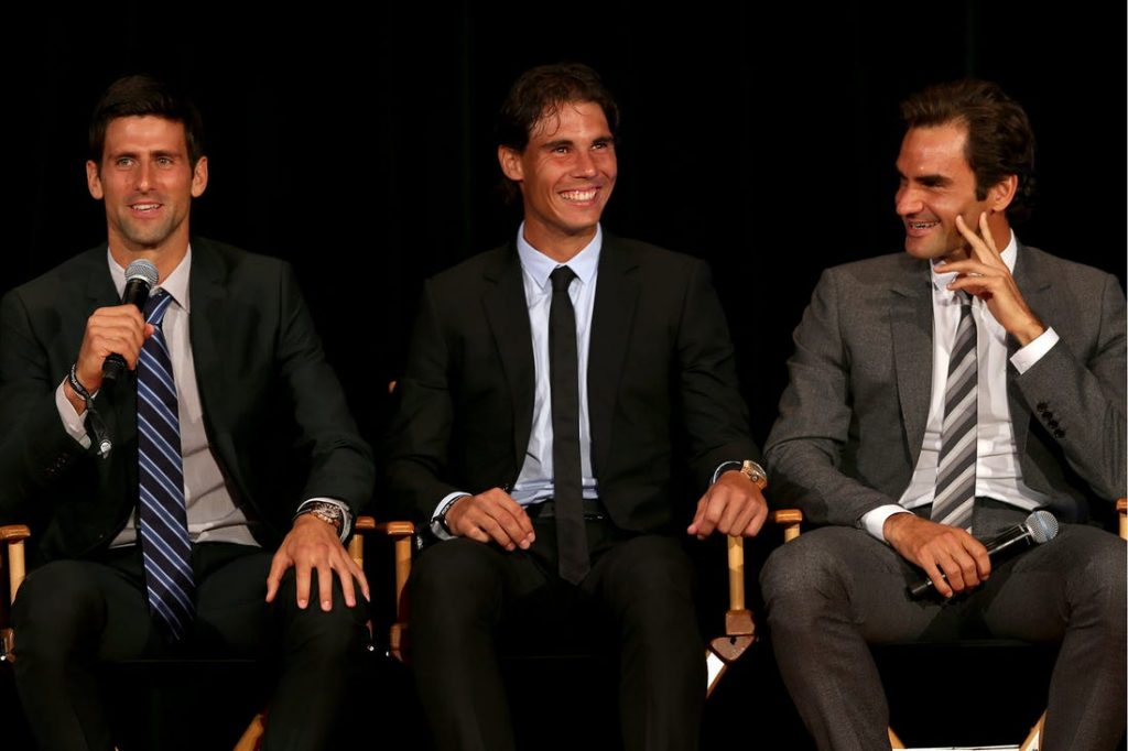 Djoković, Nadal in Federer