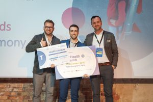 EIT Jumpstarter Grand Final 2019 winners of healthcare category