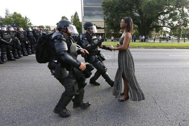 Aktivistka Iesha Evans je aretirana
