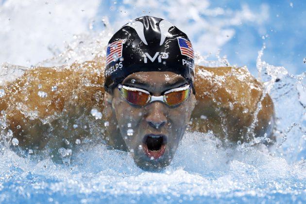 Michael Phelps na OI 2016