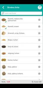 Seznam živil