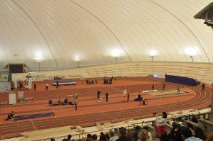 Atletska dvorana v Novem mestu
