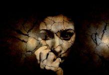 strašljiva ženska