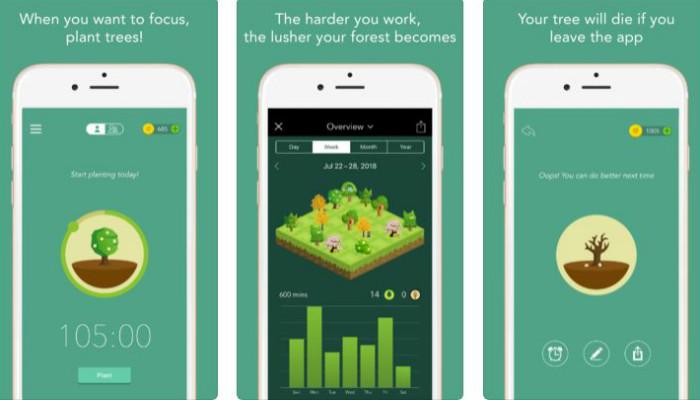 forest aplikacija