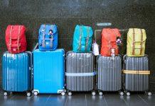 Kovčki na letališču