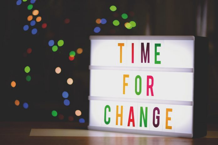 Znak čas je za spremembe
