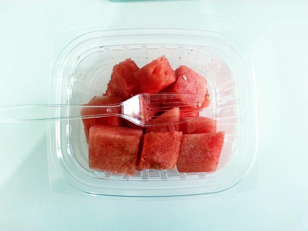 lubenica v plastiki