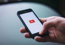 youtube app na telefonu