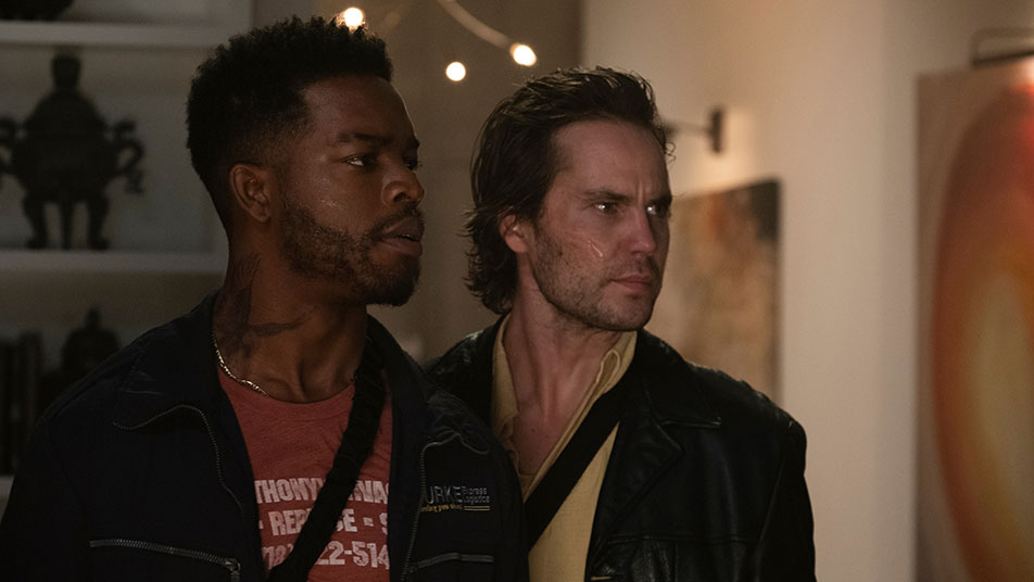 Stephan James in Taylor Kitsch