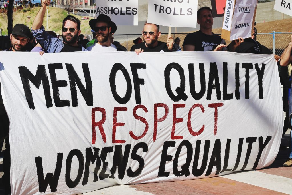 men of equality respect women of equality