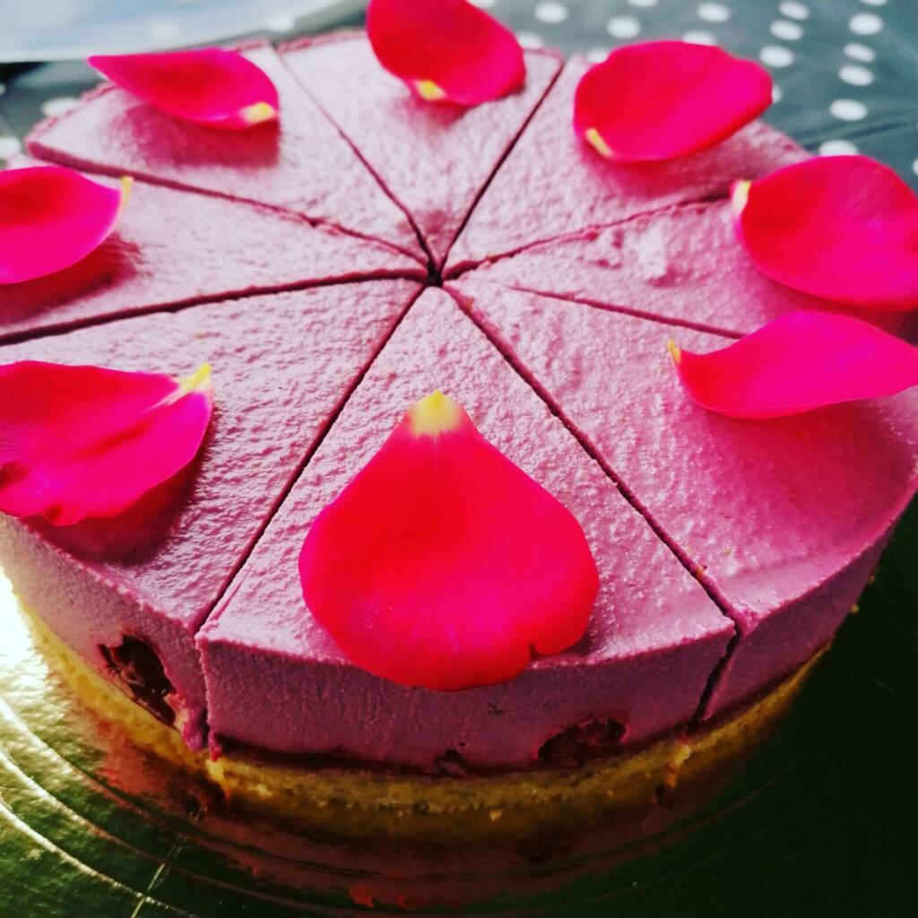 Torta pripravljena na postrežbo