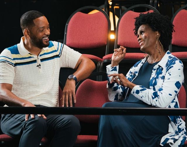 Will Smith in Janet Hubert
