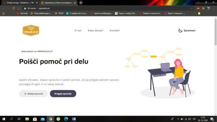 Portal Opravilce.si