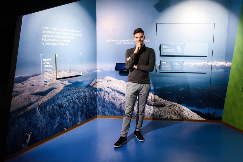 Alen Milavec na fotografski razstave
