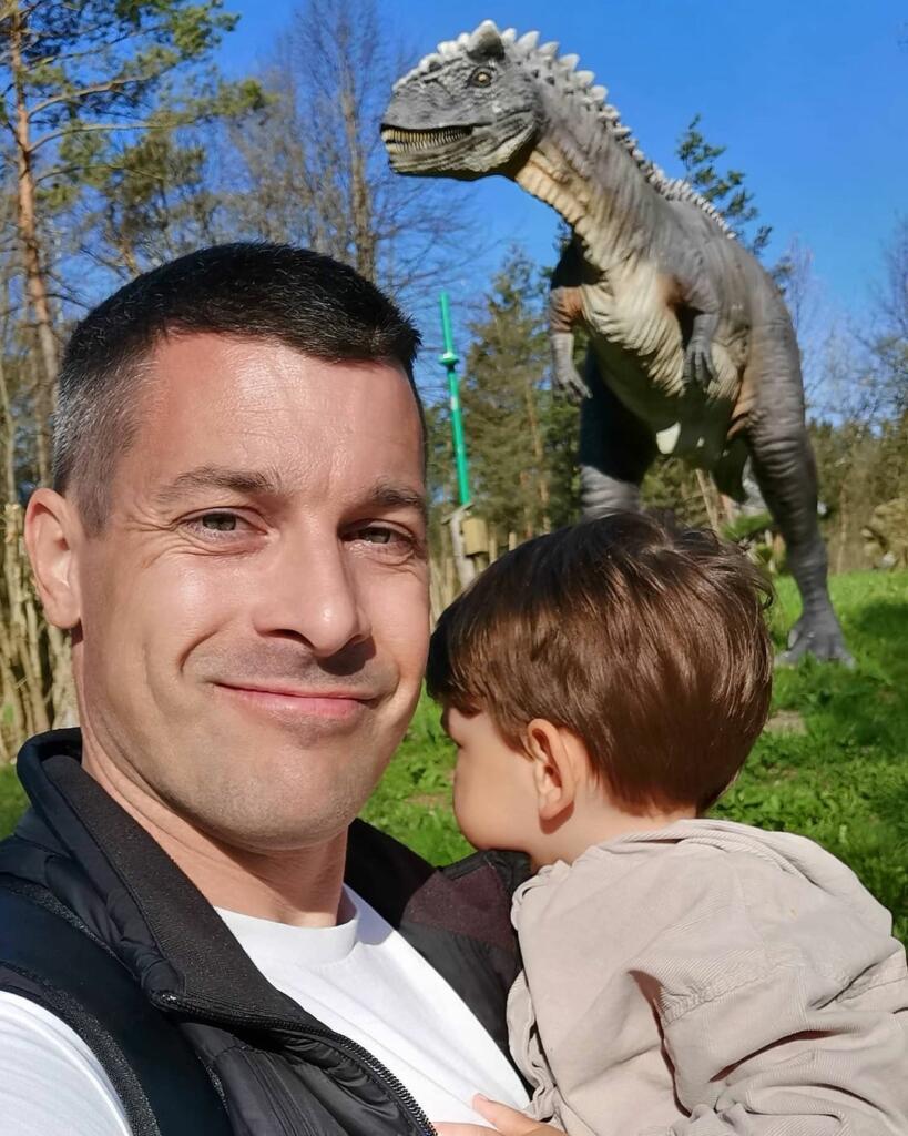Klemen s sinom Kasperjem
